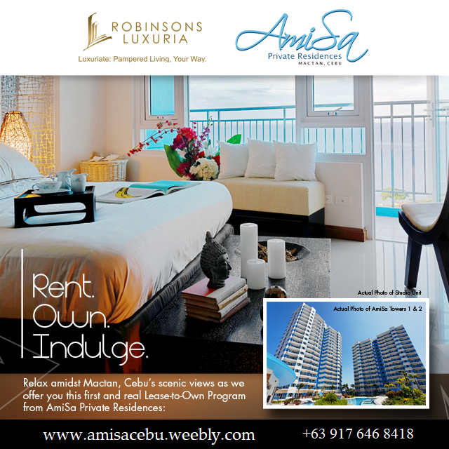 AmiSa Mactan Rent To Own Available