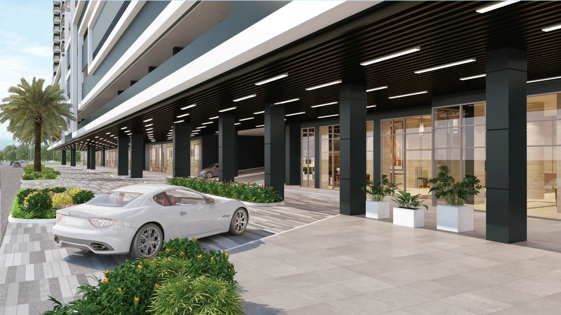 Galleria Residences Drop Off Entrance