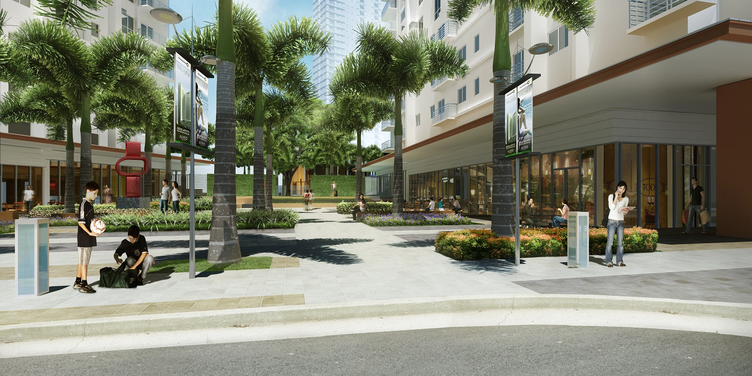 Solinea City Resort Cebu Retail Area Perspective