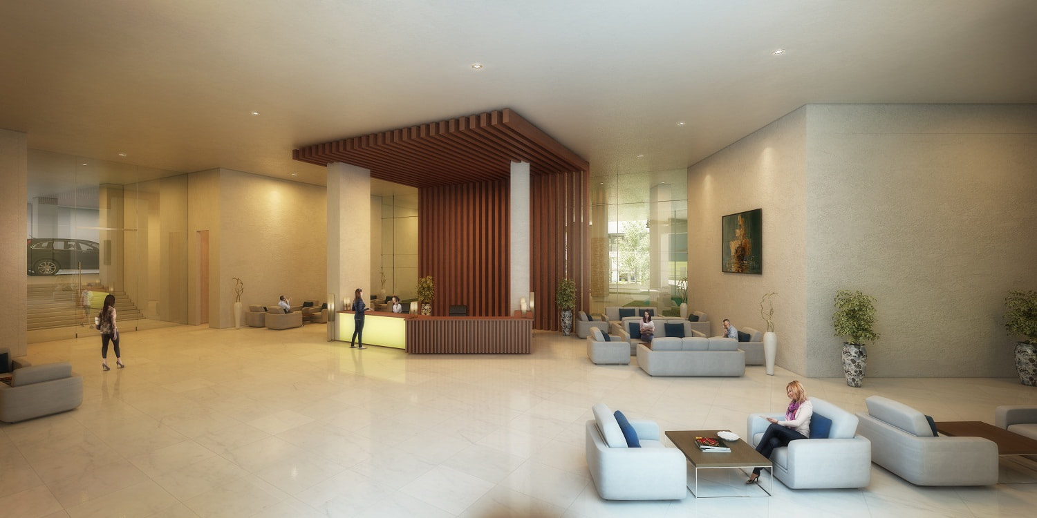 Solinea City Resort Cebu Lobby Perspective