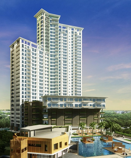 Solinea City Resort Cebu Tower 3 Lazuli Perspective