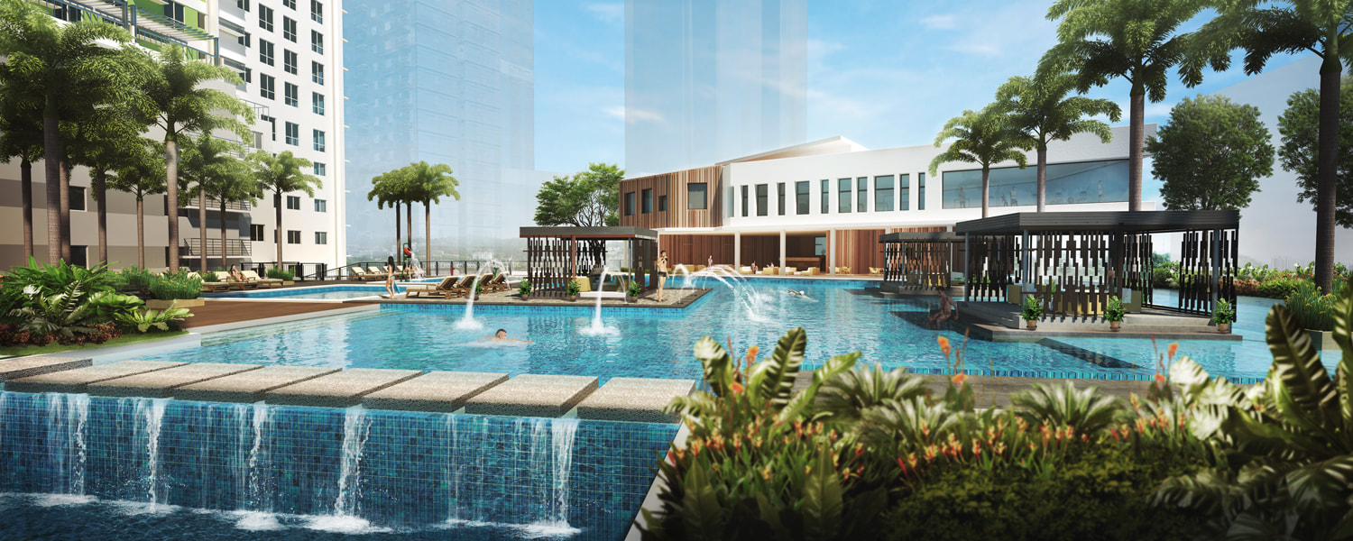 Solinea Cebu City Ultramarine Resort Pool Amenity