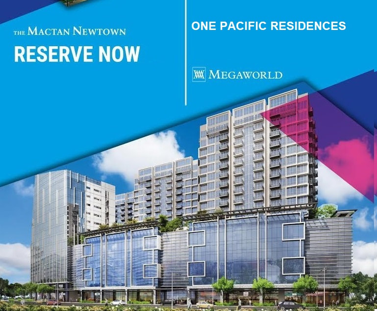 One Pacific Residence Mactan by Megaworld - Rent To Own Available